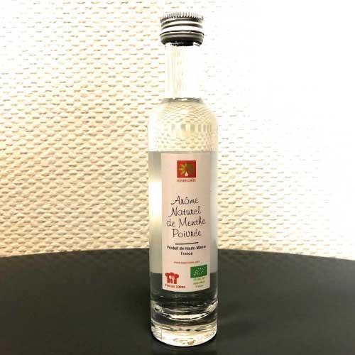 Arome naturel de menthe poivree issue d'agriculture biologique 1001 aromes